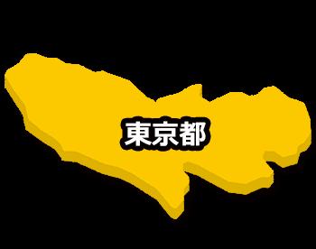 東京の地図ロールオーバー