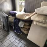 引っ越しで布団などのいらないものを片付けてもらいました。