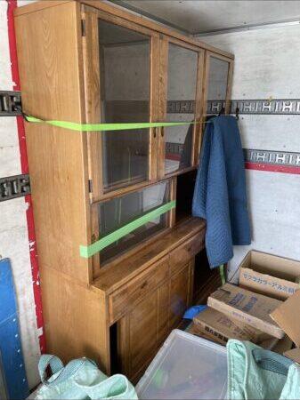 食器棚が大きく運ぶのが困難な為依頼しました。