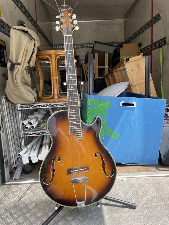 国立市にてグレコ ギターの買取、その他不用品の片付けを行いました。